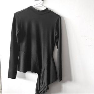 Leith Black Blouse